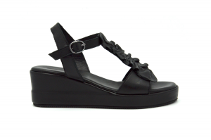 Zipe sandalo in pelle