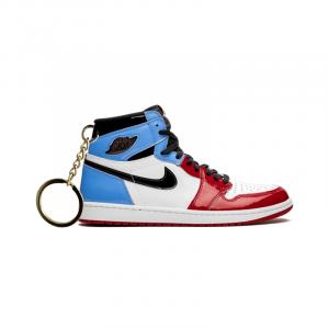 Air Jordan 1 retro high Fearless Unc Chicago portachiavi sneaker da collezione
