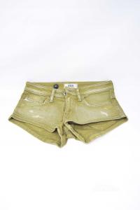 Shorts Baby Girl Diesel Tg24 Green Military