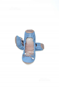 Ballerine Donna In Jeans Geox N 39