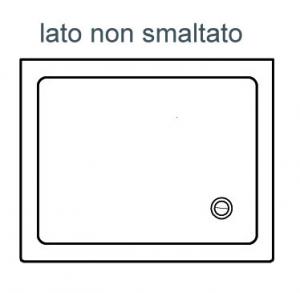 PIATTO DOCCIA RETTANGOLARE ALTHEA ITO                                  cm 80 x 100 H. 5.5