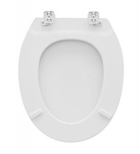 SEDILE WC IN LEGNO UNIVERSALE CANYON C&M                               Bianco