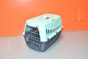 Trasportino Per Animali Grigio Azzurro 50x38x38 Cm