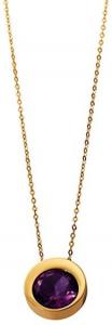 Collana Donna Morellato Gold. Stones Pendente in Oro375 e Ametista.