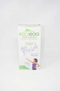 Ecoegg Spray & Refresh Soft Cotton With Essential Oil 250 Ml New