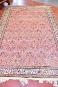 Carpet Persian Pink Salomone Beige 191x297 Cm
