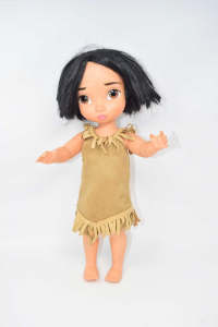 bambola pocahontas disney Originale The Disney Store London Numerato