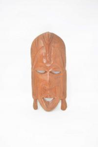 Maschera In Legno Africana Altezza 26 Cm