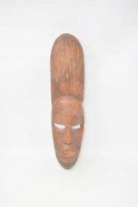 Maschera In Legno Africana Altezza 39 Cm