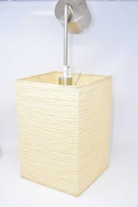 Lampadario Rettangolare In Carta Beige Ikea 32 X 22 X 22 Cm