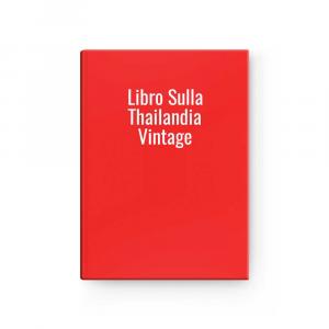 Libro Sulla Thailandia Vintage