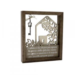 Wald quadretto legno chiave dell'amore