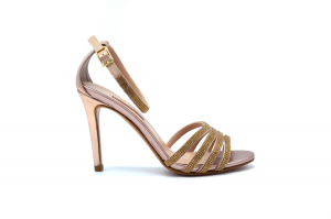 Sandalo elegante con strass