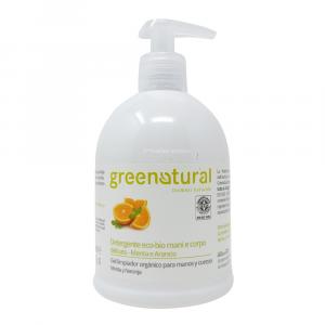 Detergente Mani e Corpo Menta e Arancio 500 ml Green Natural