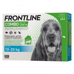 FRONTLINE COMBO PER CANE 10-20KG 3 FIALE SPOT-ON