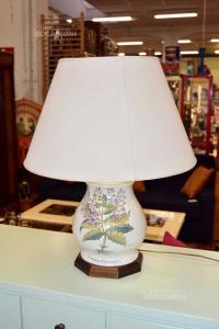 Lampada In Ceramica Bianca Disegno Veronica Chamaedris