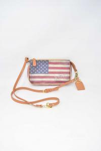 Borsa Donna Mini Ynot? Stampa Bandiera Americana
