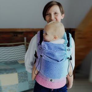 Marsupio ergonomico preschooler - aurora cube