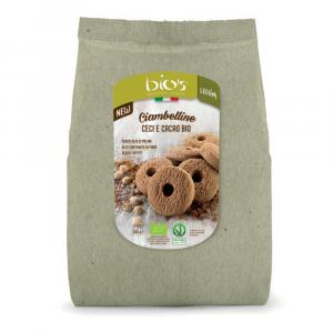 Ciambelline Bio's Ceci e Cacao 200 Gr