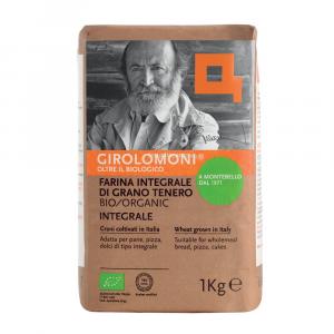 Farina di Grano Tenero Integrale Girolomoni 1 KG