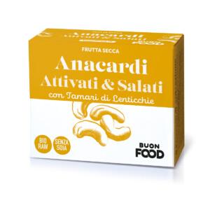Anacardi Attivati e Salati