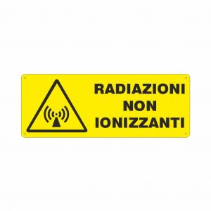 Cartello Pericolo radiazioni non ionizzanti