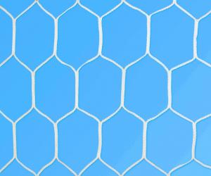Rete per porte da calcetto (maglia esagonale) 3,00 × 2,00m