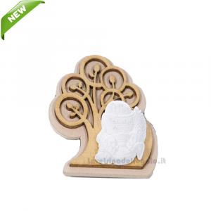 Magnete Albero della Vita con gessetto Calice 5.5 cm - Bomboniera comunione