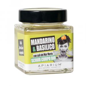 Scrub Corpo Mandarino e Basilico Apiarium 270 gr