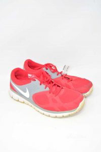 Scarpe Uomo Rosse Nike Modello Fitsole N. 46