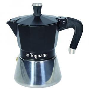 TOGNANA - SPHERA - Caffettiera 3 Tazze Sphera Alluminio Nero