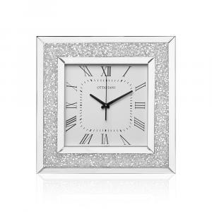 OTTAVIANI - Orologio da parete con cristalli cm 50x50
