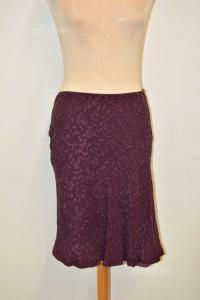 Skirt Woman Alberta Ferretti Purple Size.42