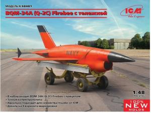 Q-2C (BQM-34A) Firebee with trailer