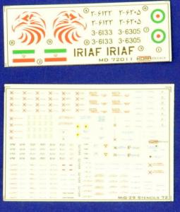 MiG-29 Fulcrum 9-12 IRIAF