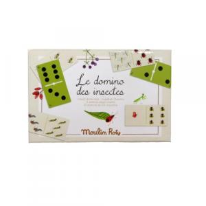 Moulin Roty gioco domino 'gli insetti'