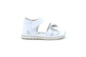 Sandalo con dettagli glitter