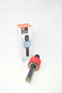 Microfono Per Fare I Simpatici Alle Feste Colore Rosso NUOVO