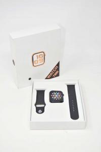 Orologio Digitale Modello T500 Imitazione Apple Colore Nero NUOVO