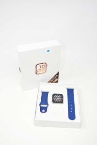 Orologio Digitale Modello T500 Imitazione Apple Colore Blu NUOVO