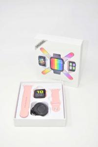 Orologio Digitale Modello FT80 Imitazione Apple Colore Rosa NUOVO