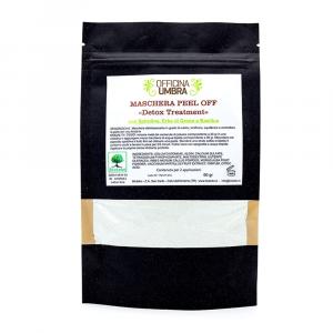 Peel-off Detox con Spirulina - Erba di grano - Basilico