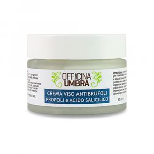 Crema viso anti-brufoli all'acido salicilico e propoli