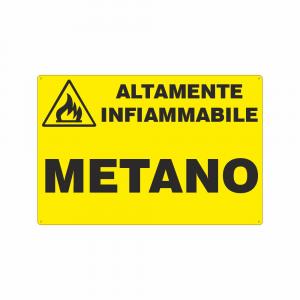 Cartello Metano