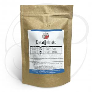 Miscela di caffè Decaffeinato in grani confezione da 1kg, 500gr e 250gr