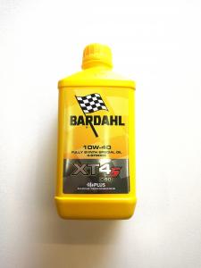 OLIO MOTORE BARDAHL XT4-S C60 per MOTO e SCOOTER 4 TEMPI 100% SINTETICO SAE 10W40