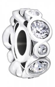 Chamilia Charm in argento 925 Birthstone aprile 2025-1032