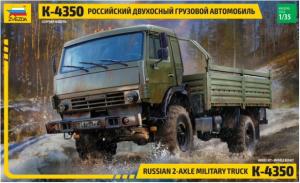 Russian 2-Axle Military Truck K-4350