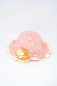 Cappello Rosa Bambina Estivo