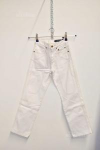 Trousers Boy Jeckerson White Size.25